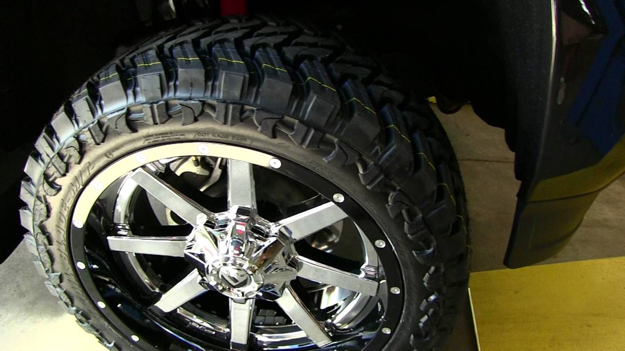 Test Fitting 22x10 Fuel Maverick Wheels & 33 Inch Atturo ...