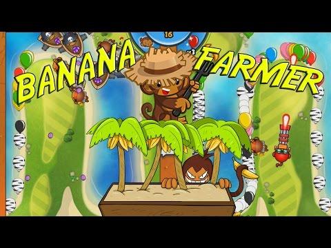 NEW TOWER - Bloons TD Battles BANANA FARMER