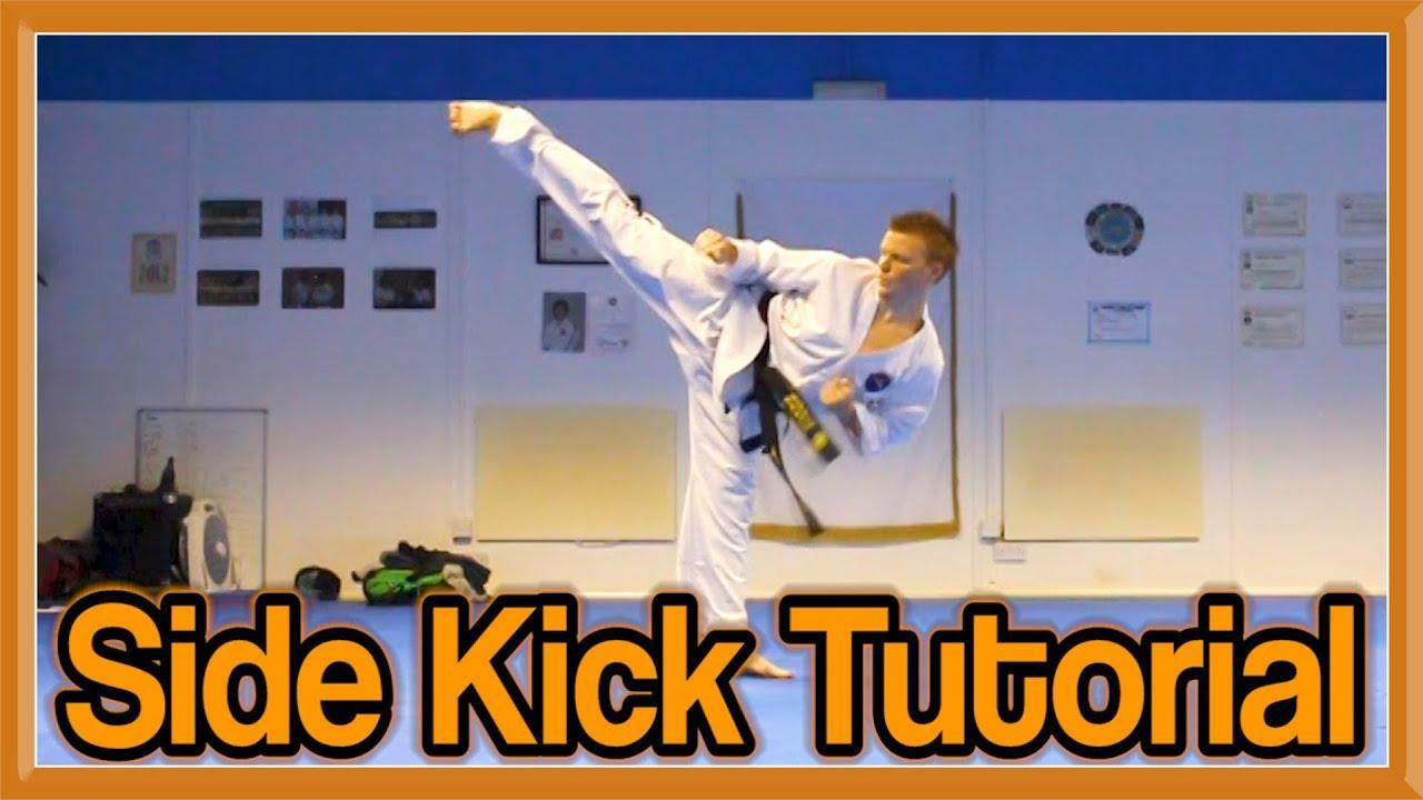 Taekwondo high side kick