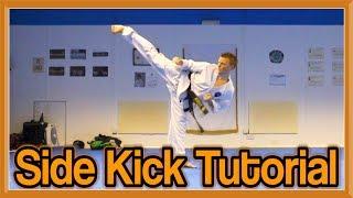 Taekwondo Side Kick Tutorial