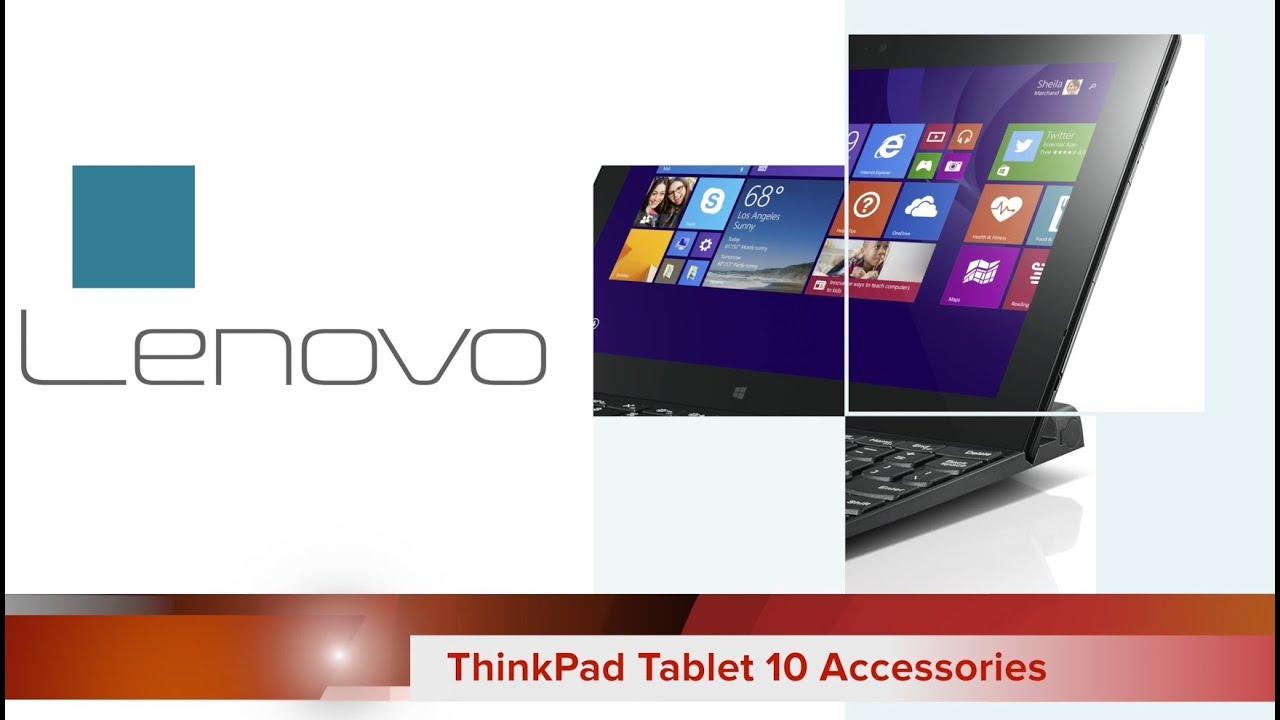 Lenovo ThinkPad Tablet 10 Accessories