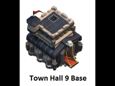 Clash of Clans Town Hall 9 Best Farming Base [Hydro Base]