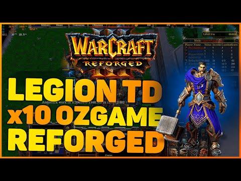 Warcraft 3: Reforged Legion TD игра с Nature (Ryzen 7 2700x, 16 Gb 3200 Mhz ОЗУ, Radeon RX 580 4 Gb)