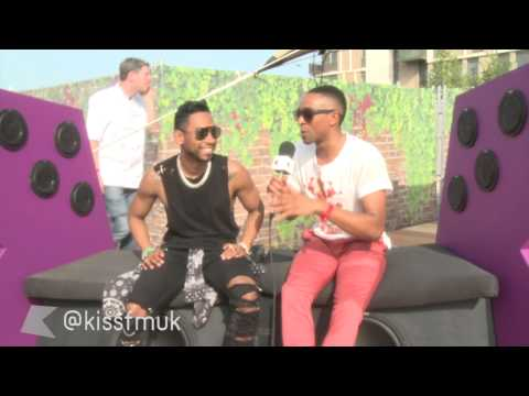 Miguel Chats To Kiss FM (UK) At Yahoo! Wireless Festival