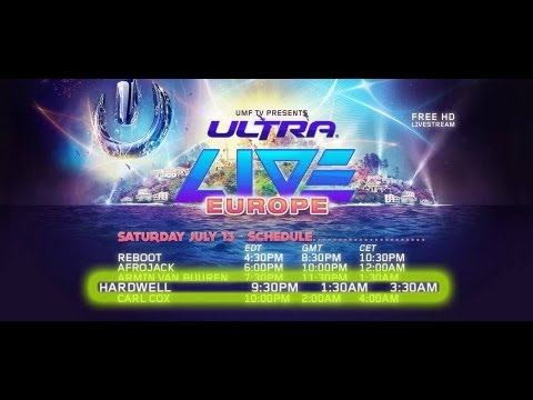 Hardwell   Live at Ultra Music Festival Europe Croatia 13/07/2013