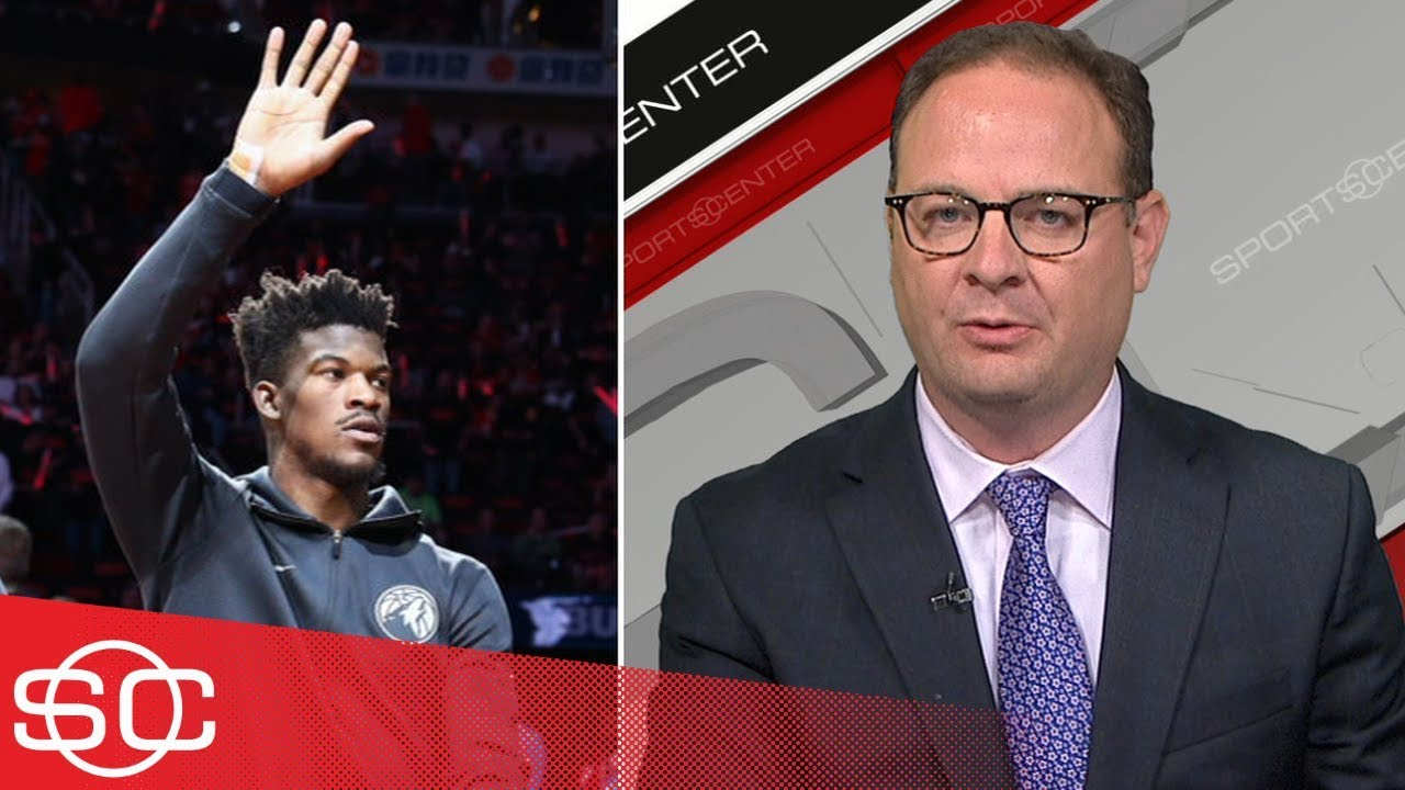 Adrian Wojnarowski on Jimmy Butler's trade request out of Minnesota  | SportsCenter | ESPN