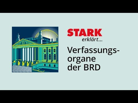 Verfassungsorgane der Bundesrepublik Deutschland   STARK erklärt