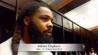 Adrian Clayborn Q&A
