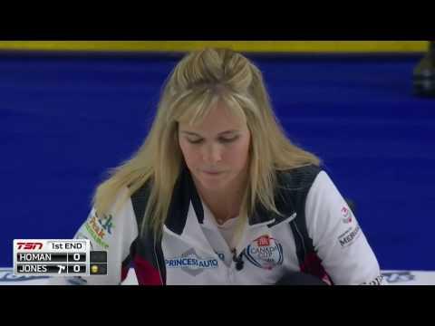 Jennifer Jones vs. Rachel Homan - 2016 Home Hardware Canada Cup of Curling - Womens Final