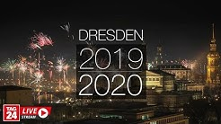 TAG24 Silvester Livestream 2020 in Dresden/Deutschland (New Year's Eve Germany)