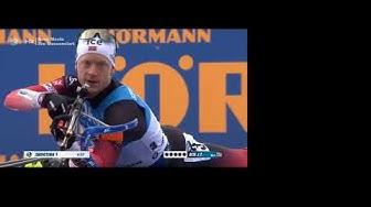 Biathlon 2020 in Nove Mesto - Massenstart der Herren - Komplettes Rennen + Analyse mit Sven Fischer