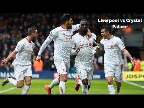 Liverpool FC vs Crystal Palace  2-1  6-3-2016