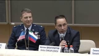 Next ISS Crew Participates in Pre Flight Activities