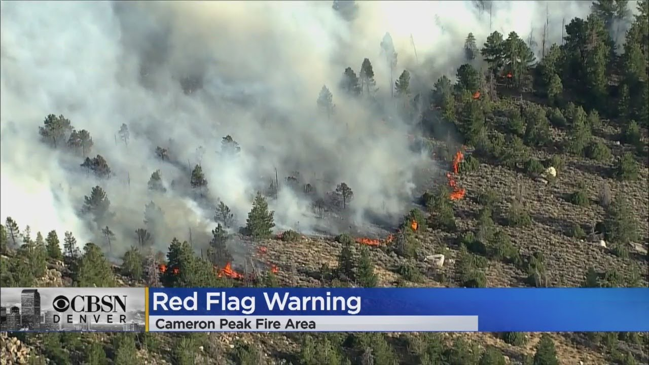 What we know Wednesday: Cameron Peak Fire flares, mandatory ...
