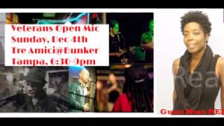 Guest Artists @ Veterans Community Open Mic (Dec 2016)