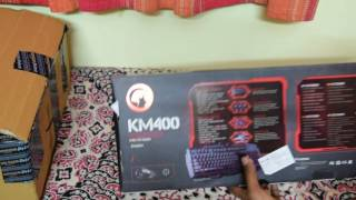 Unboxing & Review - Marvo Scorpion Black Light KM 400 Gaming Keyboard and Mouse Combo