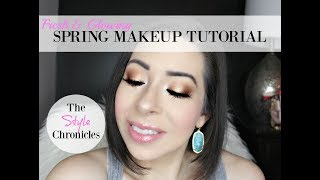 Spring Makeup Tutorial   Too Faced Sweet Peach 🍑 Palette