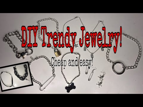 DIY Trendy Jewelry ! | Cheap and easy!