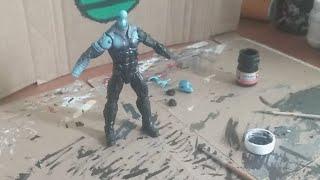 Marvel Legends Amazing Spider-Man 2 Electro Custom (Directo)