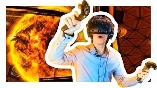 ГИГАНТСКИЙ ОГНЕННЫЙ ШАР В VR | Downward Spiral: Prologue