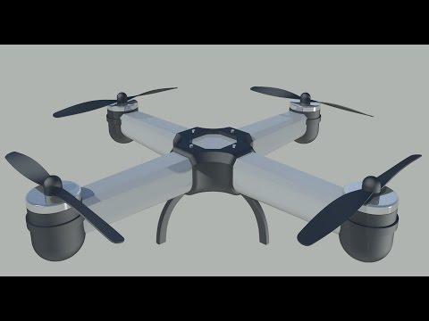 drone #1 - Autocad