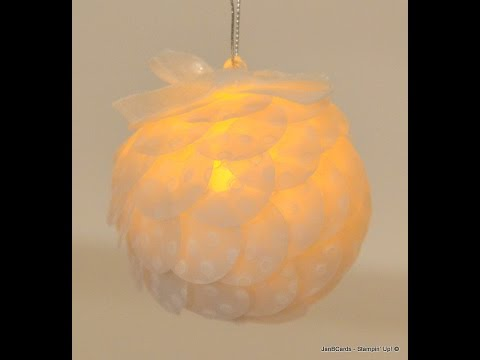 No.126 - Baubles with Battery-operated Tea-lights - JanB UK Stampin' Up! Demonstrator Independent