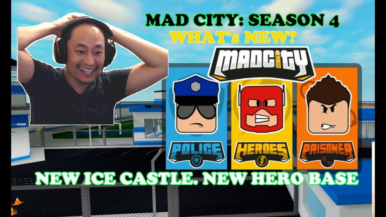 Roblox Mad City Season 4 The New Ice Castle New Hero Base