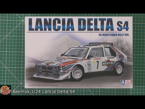 Beemax 1/24 Lancia Delta S4 Review