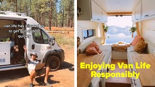 How To Enjoy Van Life Responsibly