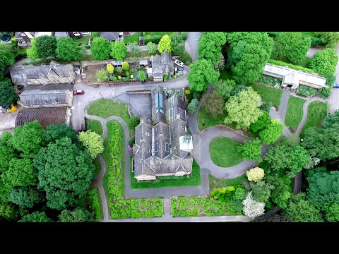 Bagshaw Museum to Batley Wilton Park by Quadcopter