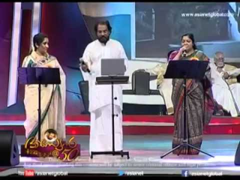 Yesudas chithra sujatha stage