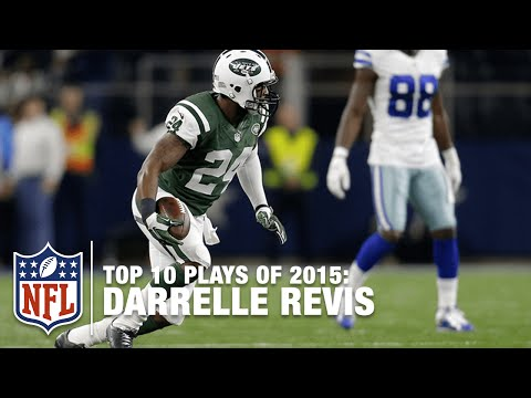 Top 10 Darrelle Revis Highlights of 2015 | NFL