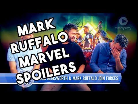 Mark Ruffalo Can't Stop Revealing MARVEL Spoilers | Thor Ragnarok 2017