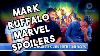 Mark Ruffalo Can't Stop Revealing MARVEL Spoilers   Thor Ragnarok 2017
