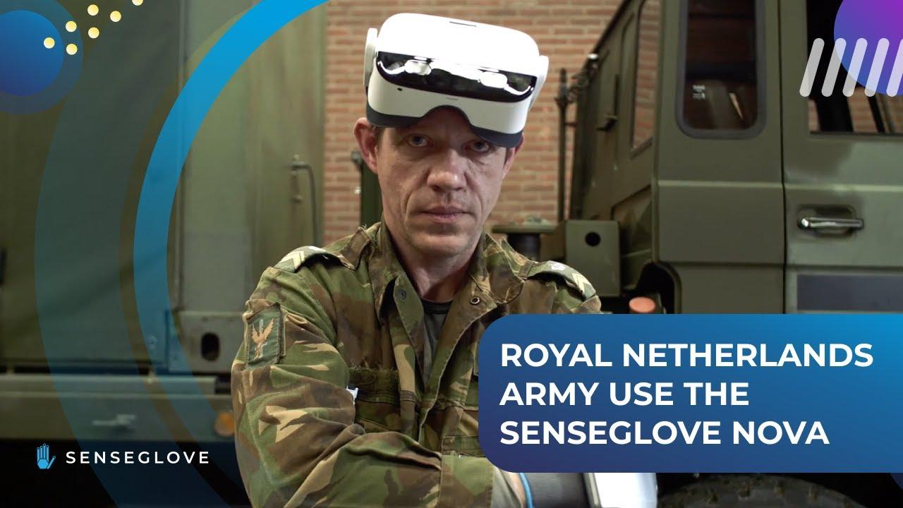 【Sense Glove】超擬真!荷蘭皇家陸軍培訓研究首選使用的力回饋體感手套!!
