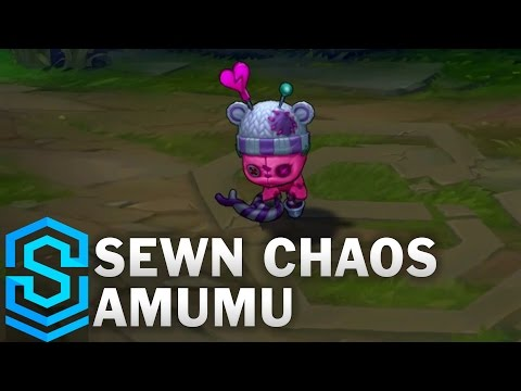 Sewn Chaos Amumu Skin Spotlight - League of Legends