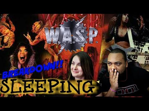 Wasp Sleeping (In The Fire) Reaction!!