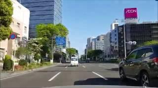 令和元年5月。新緑の東二番丁通(仙台市青葉区)