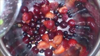 Торт без выпечки с желе и фруктами!