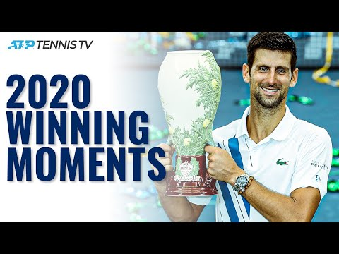 Every ATP Championship Point & Trophy Lift in 2020! 🏆