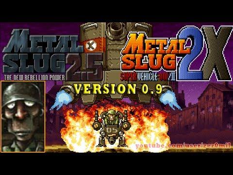 Metal Slug 2.5 (v0.9)  | Metal Slug 2X Tequila Gameplay. (Fangame)