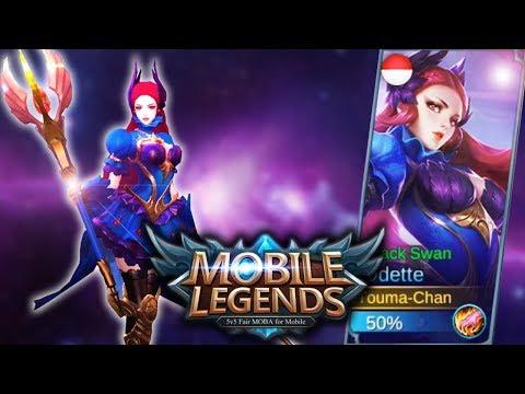 Mobile Legends Odette Black Swean Mobile Legends T