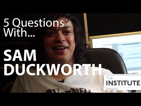 5 Questions With...Sam Duckworth (Get Cape. Wear Cape. Fly)