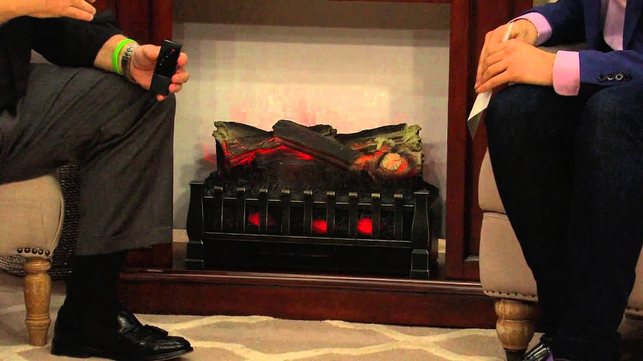 duraflame portable electric log set heater with alberti. Black Bedroom Furniture Sets. Home Design Ideas