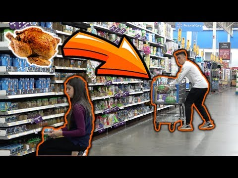 Sneaking Turkeys into People's CARTS!