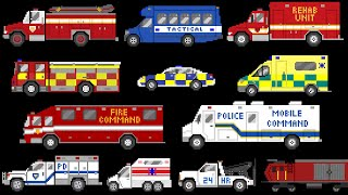 Emergency Vehicles 4 - The Kids' Picture Show