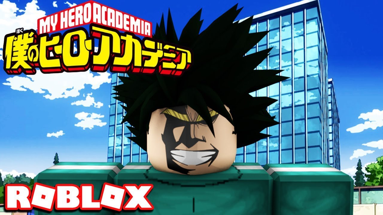 The Mightiest Quirk Roblox Plus Ultra My Hero Academia 1 Youtube