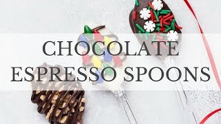Chocolate Espresso Spoons Recipe