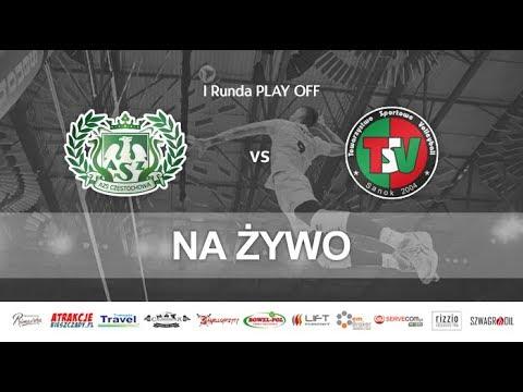 AZS Częstochowa - TSV Sanok, mecz nr 2 fazy play-off // 23.02.2018