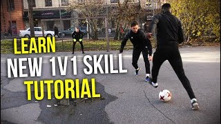 Learn 1v1 Football Skills: Neymar Stepover Elastico
